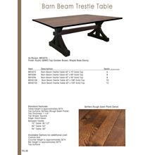 Barn Beam Table