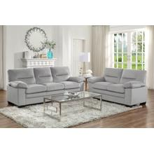 2PC Sofa and Loveseat