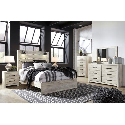Cambeck - Whitewash 6 Piece Bedroom Set