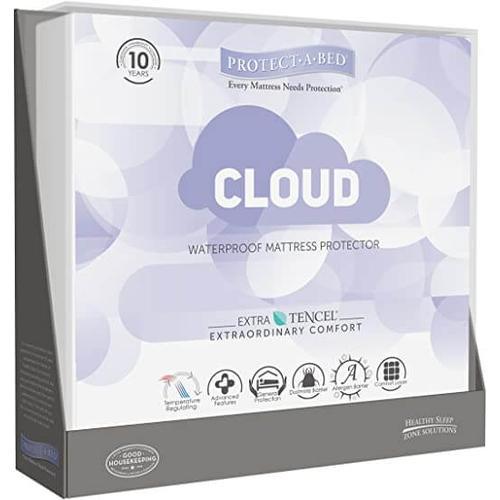 "Protect-A-Bed - Cloud ""Cal King"" Waterproof Mattress Protector"