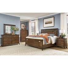 See Details - 6 Piece Set (Queen Panel Bed, Dresser, Mirror and Nightstand)