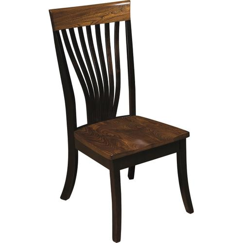 Chrisy Fan Back Side Chair