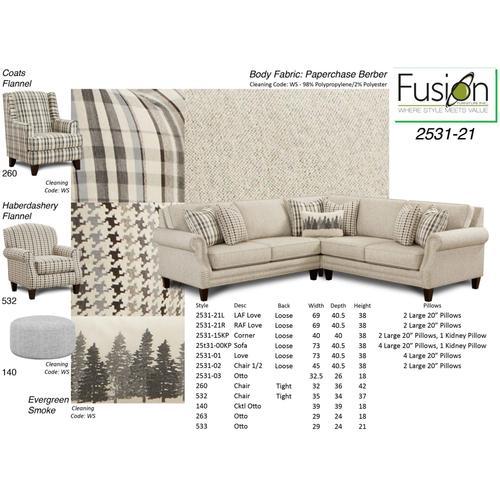 Grey Plaid accent Chair