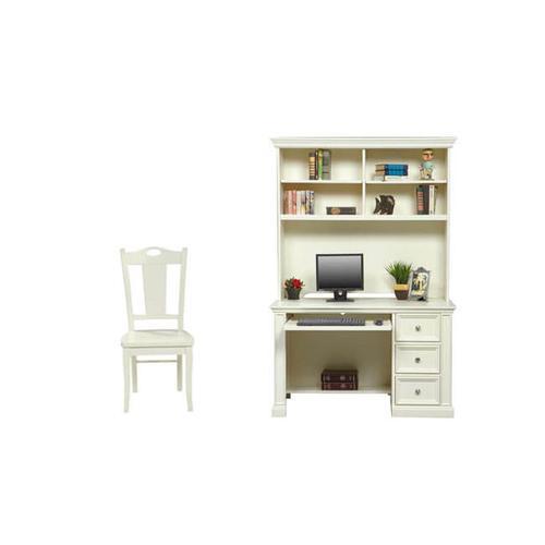 Cape Cod White Desk and Hutch