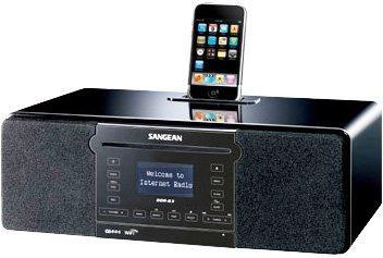 DDR-63 WiFi Internet Radio / FM-RBDS / Aux-in / CD / USB / SD / Use With iPod