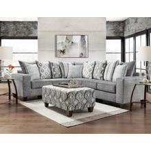 See Details - 5850 Stonewash Charcoal Sectional