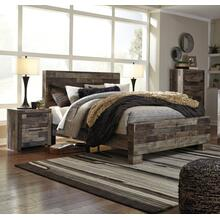 Derekson - Multi Gray 3PC Bedroom Set - Queen