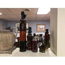 6 Piece  Decorative Oil And Vineger Bottles