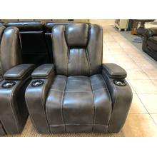 Power Theater Seat with Adjustable Headrest