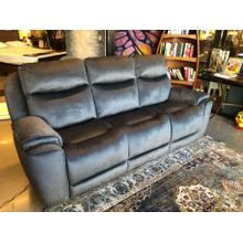 Next Level Reclining Sofa w/Power HR  164-14 Bahari Charcoal