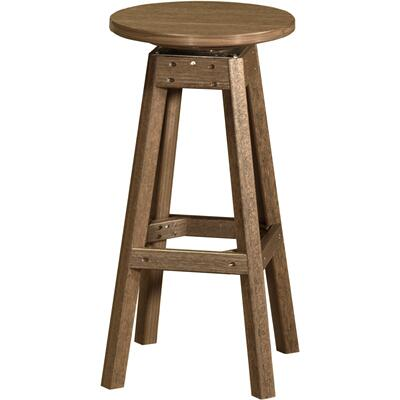 Bar Stool Premium Antique Mahogany