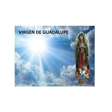 5 feet tall Virgen de Guadalupe