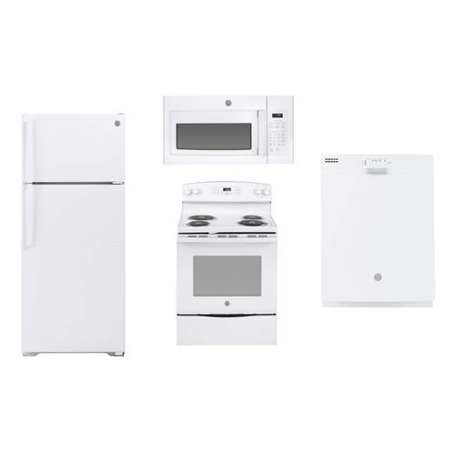 GE White Apartment Package