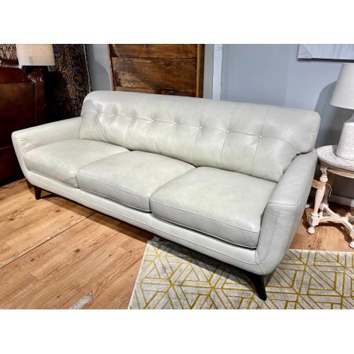Simon Li Furniture - Stallion Ivory Leather Sofa