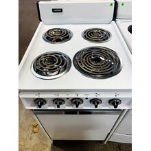 USED- WHITE TAPPAN 20 IN. COIL ELECTRIC RANGE-  E20WHCOIL-U SERIAL #4