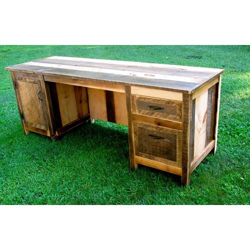 Cozy Creations Collection - Rustic Computer Desk