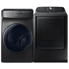 See Details - SAMSUNG 5.5 cu. ft. Smart Washer & 7.4 cu. ft. Electric Dryer - Open Box