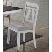Maise White Side Chair