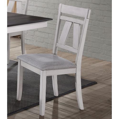 Maise White Side Chair