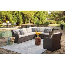 See Details - Ashley Easy Isle Two-Piece Sectional and Lounge Chair