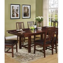 Counter High Table and 6 Chairs