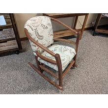 Walnut Hoop Rocker (Pick your Fabric!)