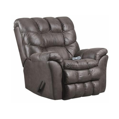 Simmons Upholstery - UNITED 678SG Sawyer Granite Rocker Recliner