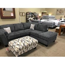 See Details - Emerald Grey Sectional $1149