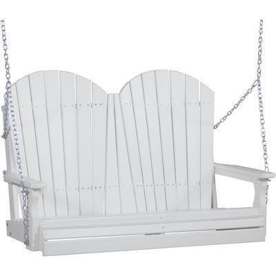 Adirondack Swing 4' White