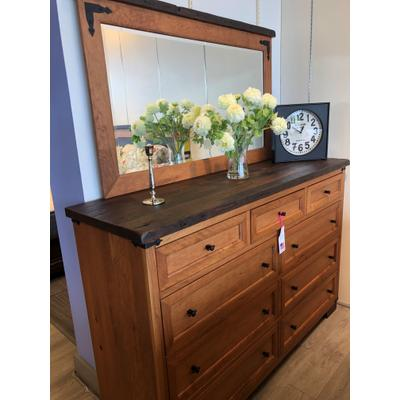 See Details - Farmhouse Heritage Dresser and Mirror