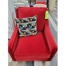 View Product - J Furniture Red Chair