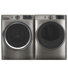 See Details - GE 4.8 cu. ft. Front Load Washer & 7.8 cu. ft. Smart Front Load Electric Dryer - Open Box