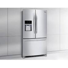 SMALL DENT ON DOOR MOD # DGHF2360PF-DS S/N 6637 Frigidaire Gallery 22.6 Cu. Ft. French Door Counter-Depth Refrigerator
