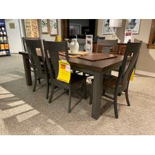 7 Piece Table Set 42x78