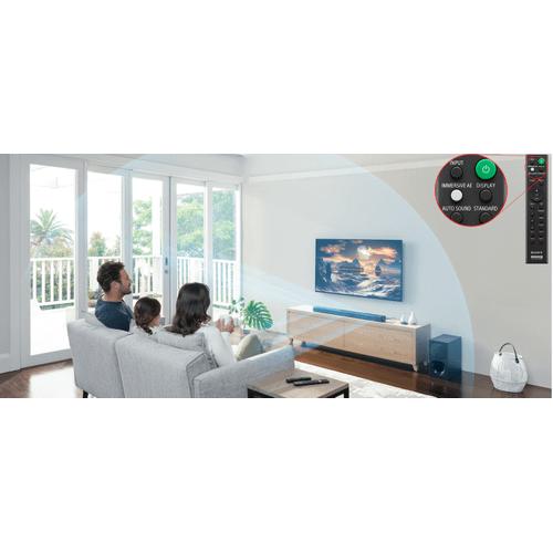 Sony - 3.1-Channel Soundbar with Wireless Subwoofer - Black