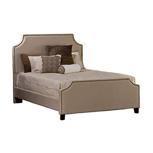 Dekland Fabric Bed with nailhead