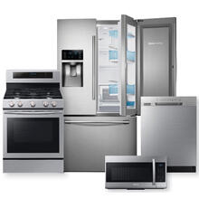 SAMSUNG Stainless Steel Food Showcase 3-Door French Door Refrigerator Package- OPEN BOX   **Colorado Exclusive**