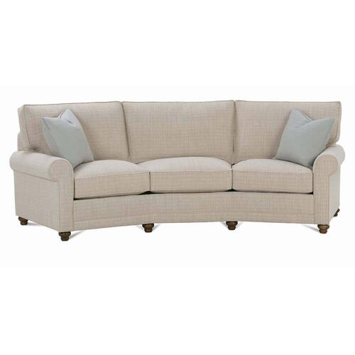 Rowe Furniture - Premium Collection - MyStyle Roll Arm Conversation Sofa