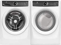 Front Load Washer with LuxCare® Wash - 4.3 Cu. Ft./Front Load Perfect Steam™ Electric Dryer with 7 cycles - 8.0 Cu. Ft