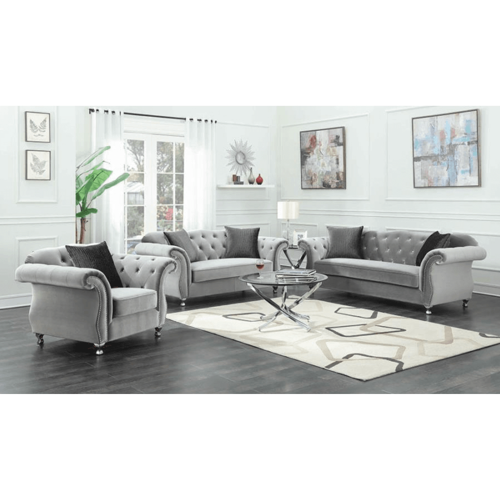 Frostine Sofa and Love Seat