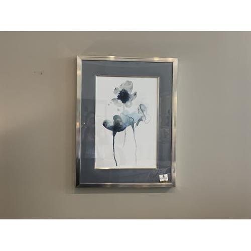 Silver Framed Water Color