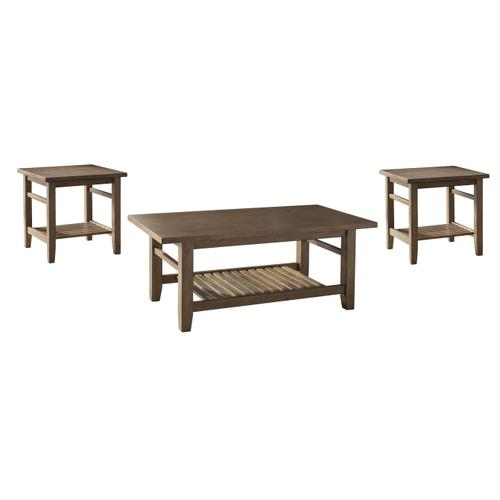3-Pc Living Room Table Set