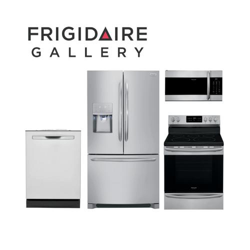 Frigidaire Gallery 4 Piece Stainless Steel Kitchen Package