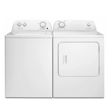 View Product - 3.5 cu ft Top Load Washer & 6.5 cu ft Gas Dryer (sold as set)