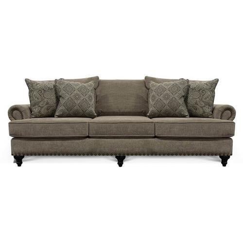 Sofa with Nail Trim