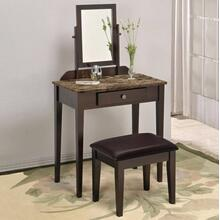 Iris Vanity Table & Stool (marble)