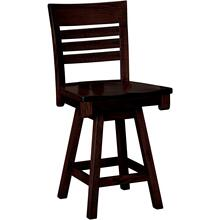 Belfast Amish Custom Bar / Counter Swivel Stool