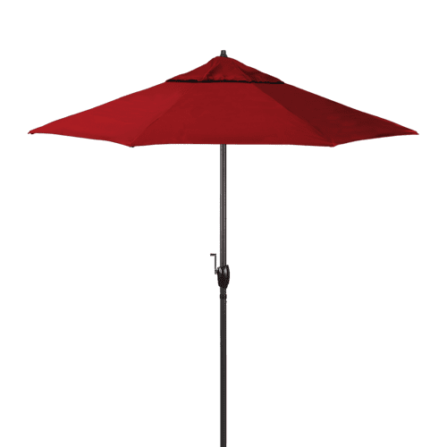 California Umbrella - Casa Series 7.5' Umbrella - Jockey Red
