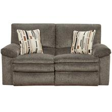 Tosh Reclining Loveseat - Pewter