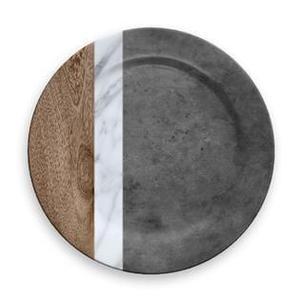 Mixed Material Marin, Carrara & Stone Charger